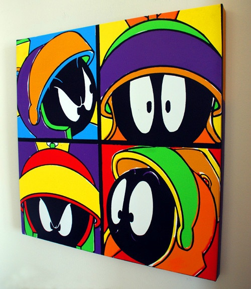 Marvin Martian colorful