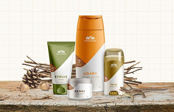 Highlands Men S Hair Skin Care By Farm Design Mens Skin Care