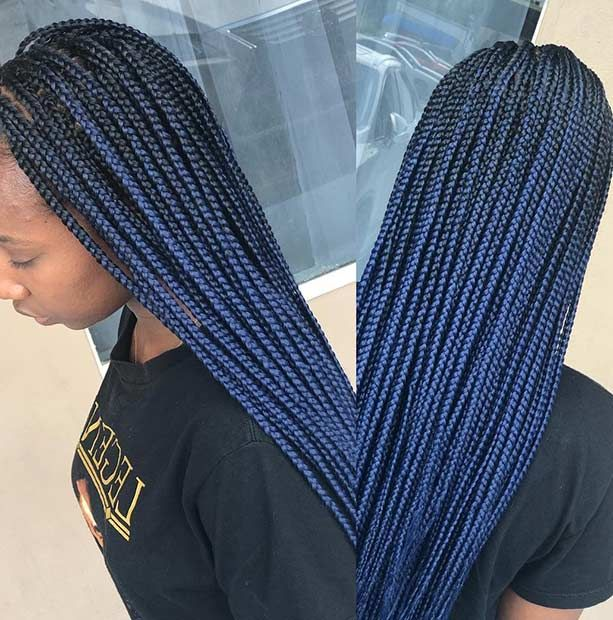 43 Beautiful Blue Black Hair Color Ideas To Copy Asap With Images