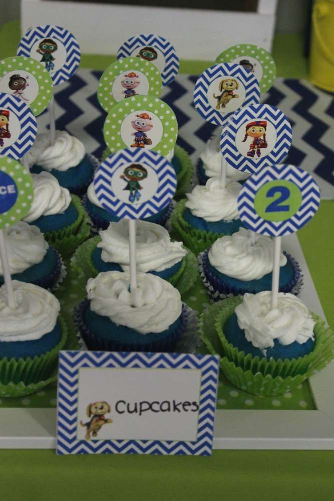 Royce's Stylish Super Why 2nd Birthday Party!   CatchMyParty.com