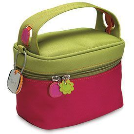 Designer Cosmetic Bag in Twill Polyester