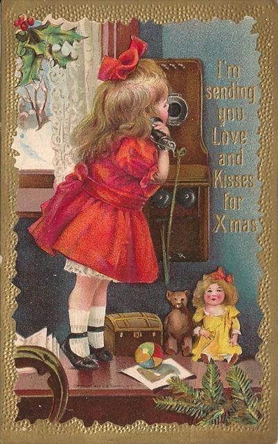 vintage christmas postcards | vintage Christmas postcard - Pictify - your social art network