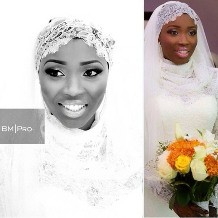 Nigerian Muslim bride www.loveweddingsng.com