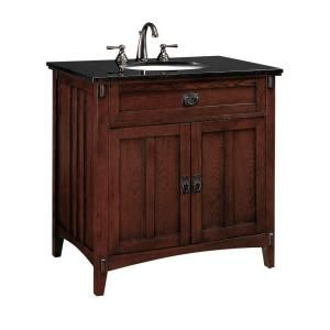 33 bathroom vanity sink cabinet artisan 33 in w x 20 5 in d sink cabinet in macintosh 10207