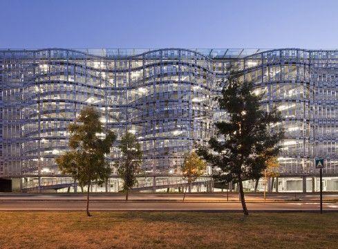 Parking de l'aéroport Toulouse-Blagnac, Toulouse, Scau Architectes - Projet en cours