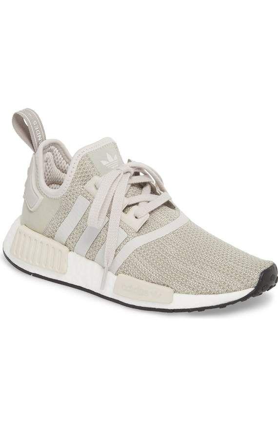 ce04c9349 Adidas NMD R1 Athletic Shoe Sesame  Chalk Peach  White