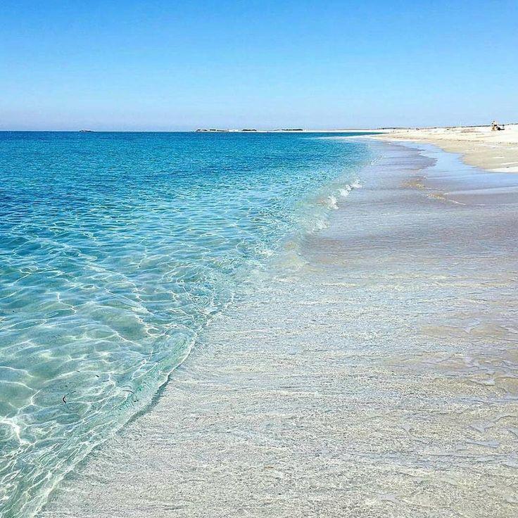 Sardegna-Mari Ermi, spiaggia della penisola del Sinis