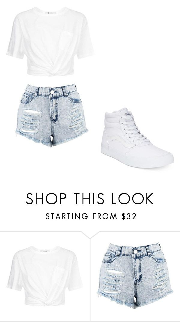 """Untitled #319"" by thenerdyfairy on Polyvore featuring T By Alexander Wang, Boohoo and Vans"