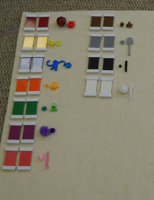 Color Matching variation (Trillium Montessori)