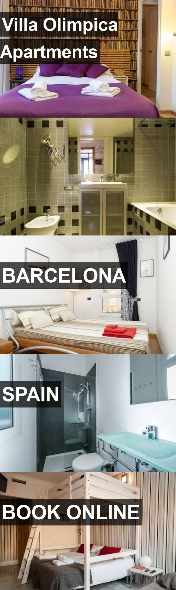 Hotel Villa Olimpica Apartments in Barcelona, Spain. For more information, photos, reviews and best prices please follow the link. #Spain #Barcelona #VillaOlimpicaApartments #hotel #travel #vacation
