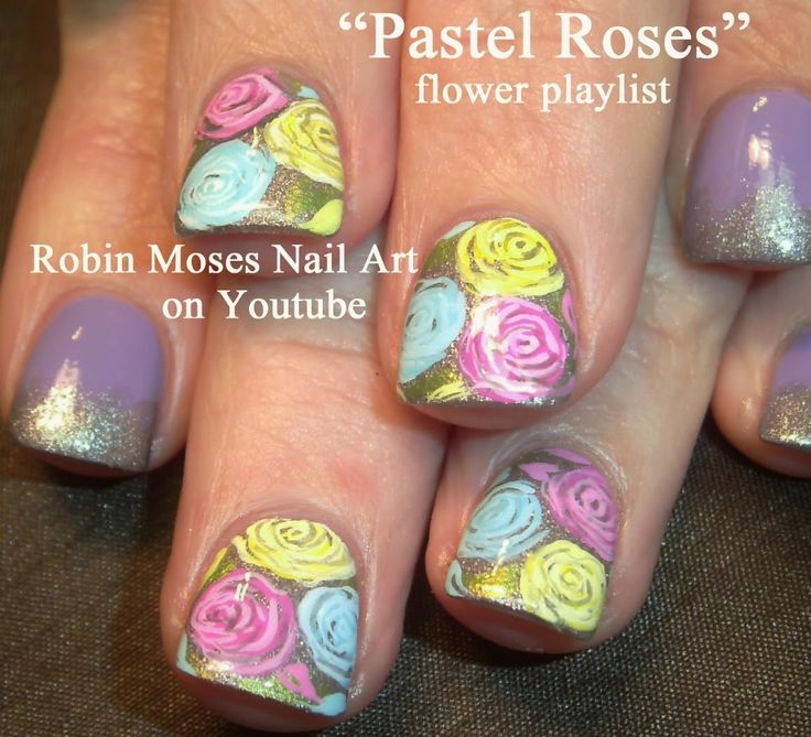 Another Flower Nail Tutorial: 17 Best Images About FLOWERS Nail Art Pictures With