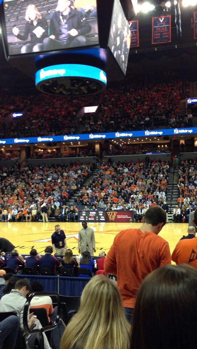 UVA basketball games