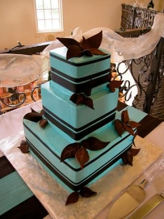 Brown And Blue Wedding Cakes Google Image Result For Http Static Weddingandcakes Wcakes