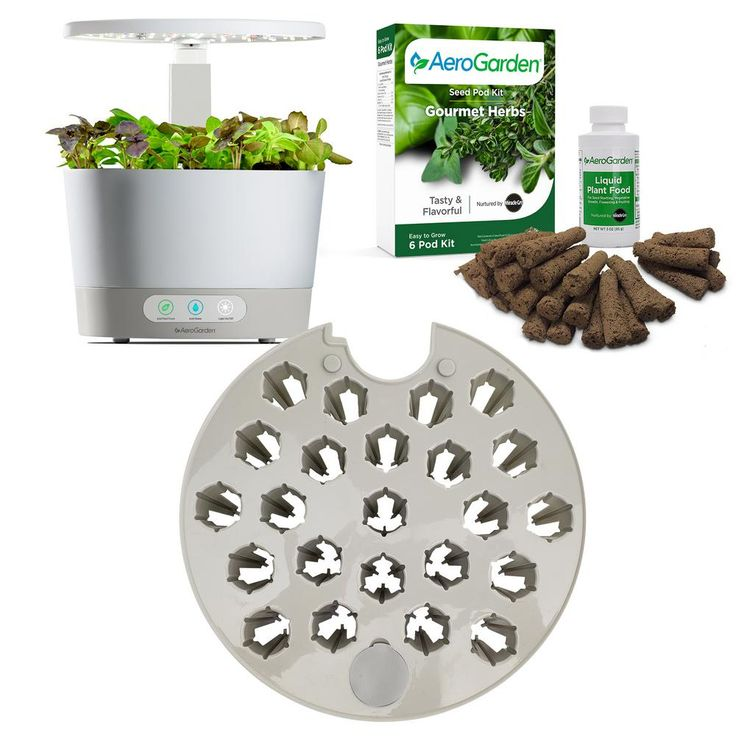 Aerogarden Harvest 360 White With Seed Starting System 400 x 300
