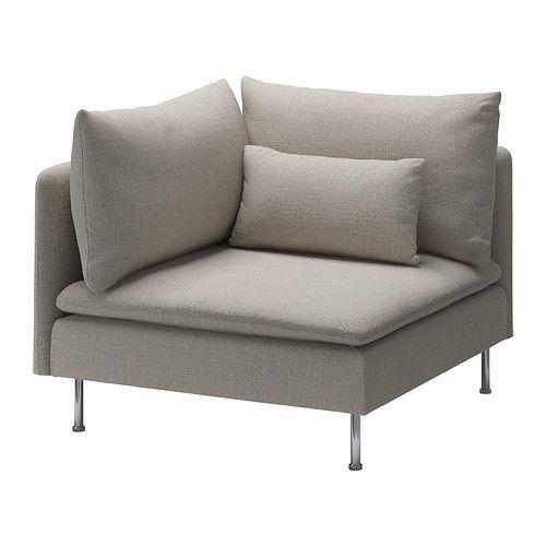 SÖDERHAMN Module d'angle IKEA Série pour le salon dont les éléments s'utilisent ensemble ou séparément, au choix.