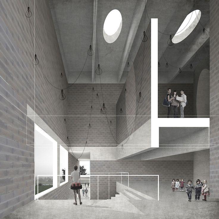 School in Romont, TEd'A arquitectes - BETA