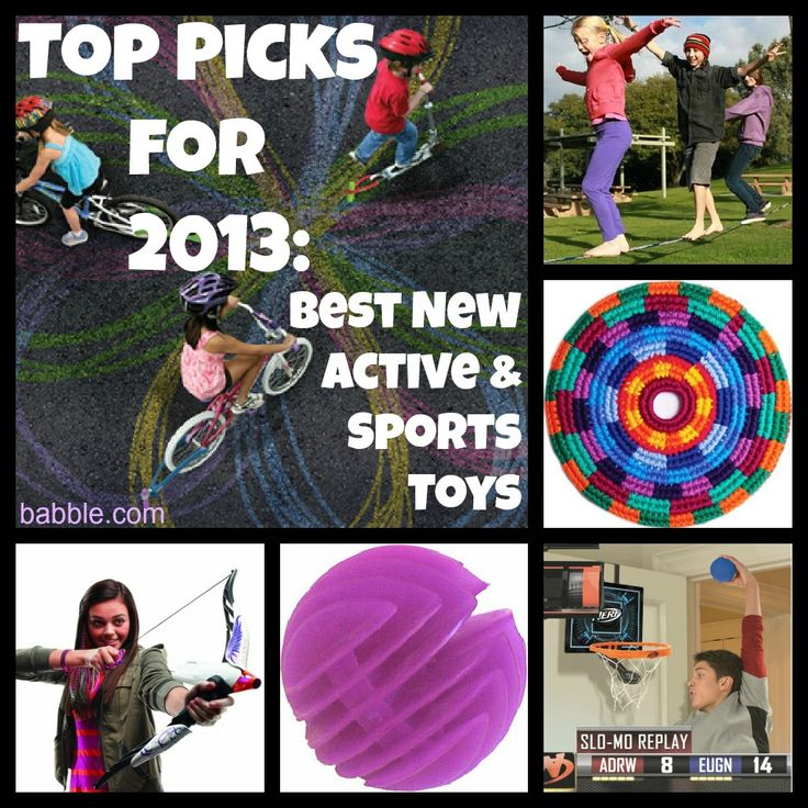 Top Picks for 2013: Best New Active and Sports Toys