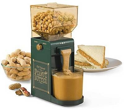 Personal peanut butter maker / #TreatYoSelf / #ParksandRec