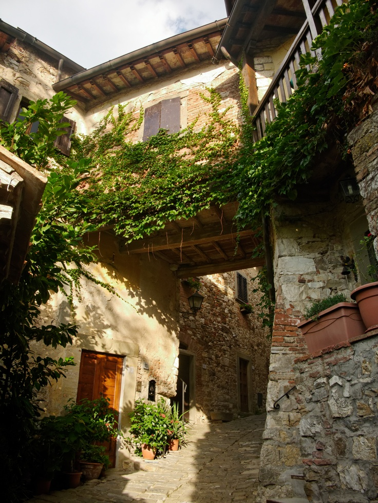 Montefioralle, Tuscany.