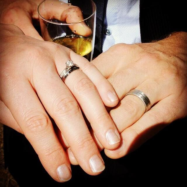 Jessica Helen: Engagement & Wedding Rings, Brian & Lucy's Wedding Rings #australiangoldsmith #weddingring #bespokejewellery #gold #diamonds #platinum