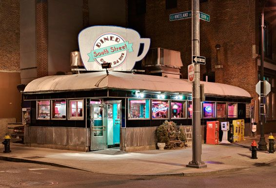 South Street Diner  Boston MA  Diner  American diner