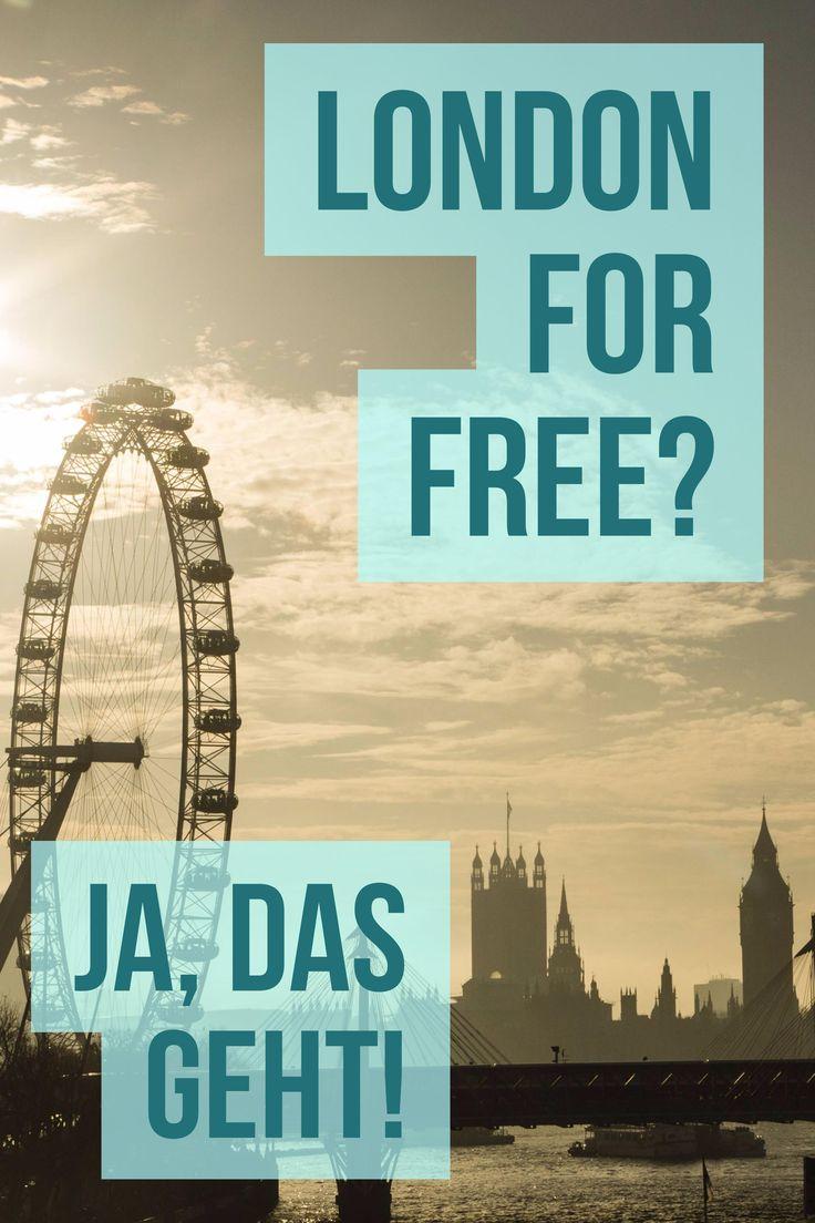 London kostenlos erleben? Ja, das geht!
