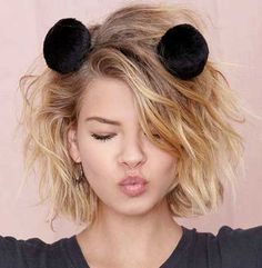 Short Wavy Hairstyles 2014-2015