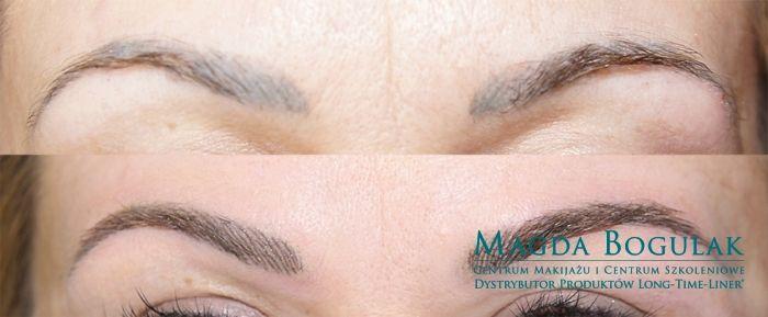 Korekcja nieudanego makijażu permanentnego