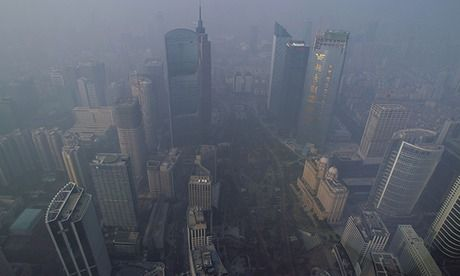 Yikes!  China's toxic air pollution resembles nuclear winter, say scientists Air pollution now impeding photosynthesis and potentially wreaking hav...