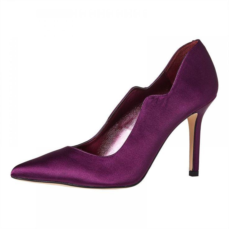 Buy Find Heel Shoes for Women - Purple - Casual & Dress Shoes | KSA | Souq