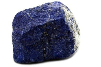 Natural lapis lazuli is an intense blue stone. Lapis Lazuli is a rock composed chiefly of the blue silicate mineral lazurite, together with calcite and brassy- colored pyrite which is abundant in the...