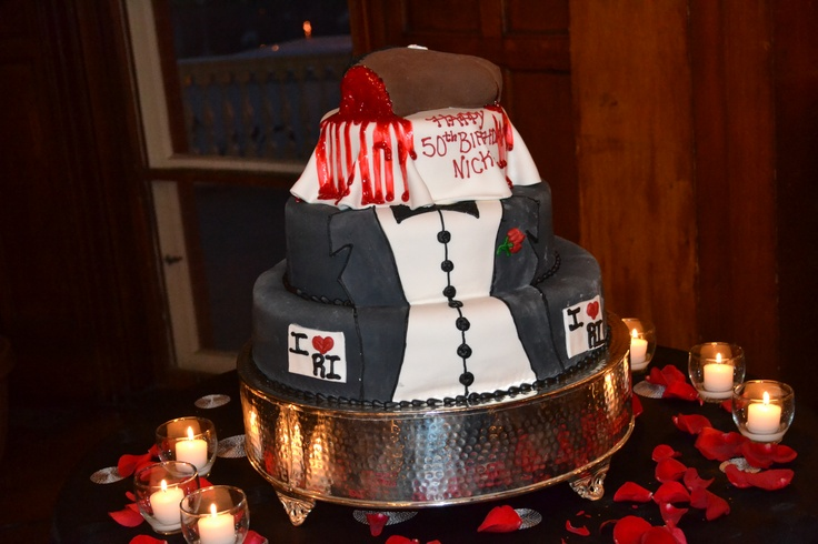 50th Birthday Cake Godfather Theme Cakes Pinterest