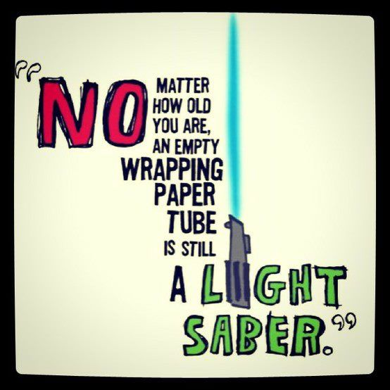 shine on light saber.. shine on