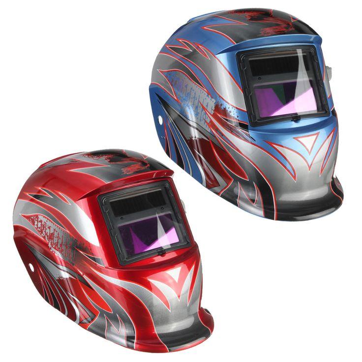 Solar Auto Darkening Welding Helmet Lens Arc Tig Mig Electric Grinding Welding Face Mask Welder Welding Tool