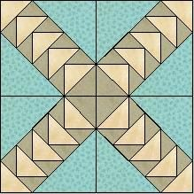 Block of Day for March 24, 2015 - Flying Geese