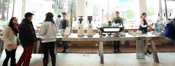 Blue Bottle Coffee Oakland | WC Morse Building | Temescal