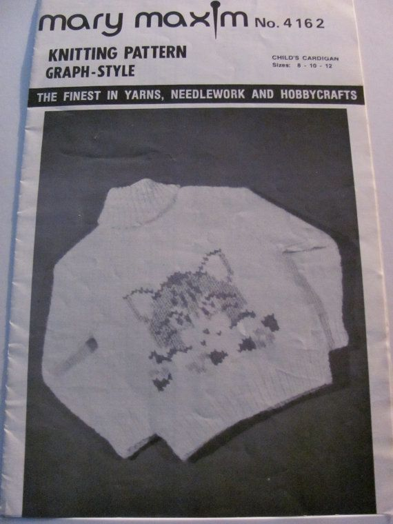Graph Style Knitting Pattern : 75 Best images about Vintage Mary Maxim Cowichan Patterns on Pinterest Snow...