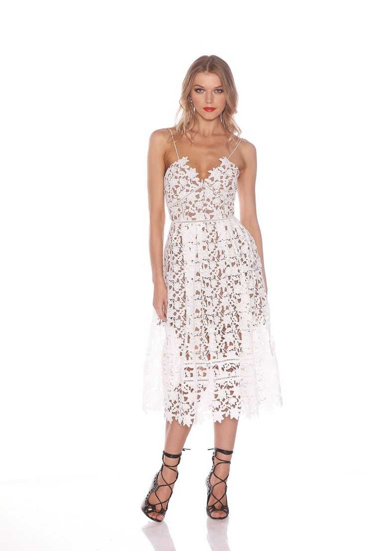 Grace & Hart - Bella Flare Dress Ivory