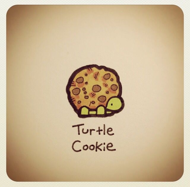 Turtle cookie