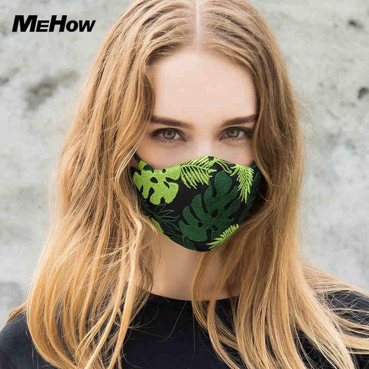 MeHow Coton Broderie Femmes Bouche Masque Anti Brouillard Brume Pollution Bactéries Pollen pm2.5 Nez En Caoutchouc Filtre Core Masque Halloween dans Masques de Beauté & Santé sur AliExpress.com | Alibaba Group
