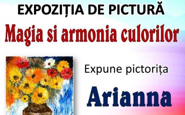 """La Clubul Artelor """"Solteris"""" care îşi desfăşoară activitatea la Cercul Militar Mangalia va avea loc duminică 22.02.2015 ora 1500, expoziţia de pictură """"Magia şi armonia culorilor""""."""
