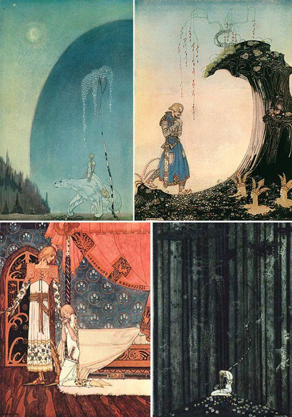 East of the Sun and West of the Moon: Old Tales From the North, illustrated by Kay Nielsen.
