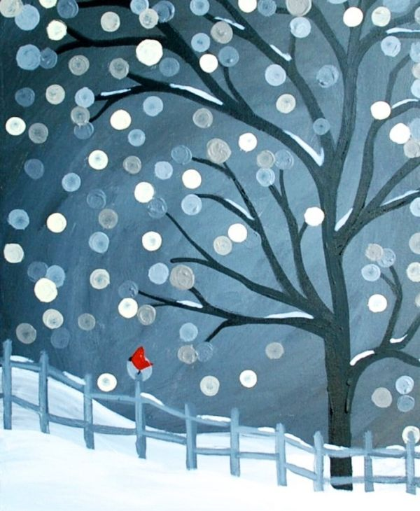 Original-Winter-Paintings-on-Canvas-34.jpg 600×730 pixels