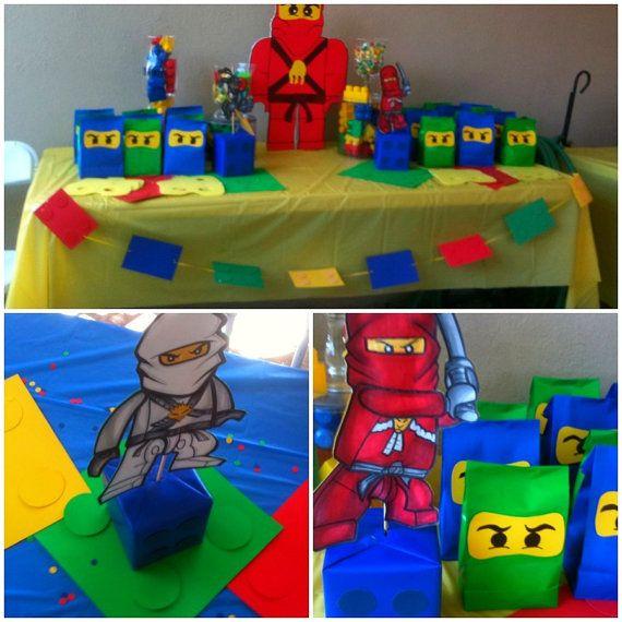 Lego Ninjago Birthday Party Google Search: Lego Ninjago Party Set