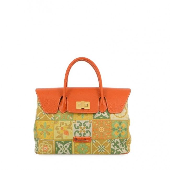 Borsa Braccialini Mosaico 43 cm B9653  #braccialini #borse #handbags #fashion #accessories