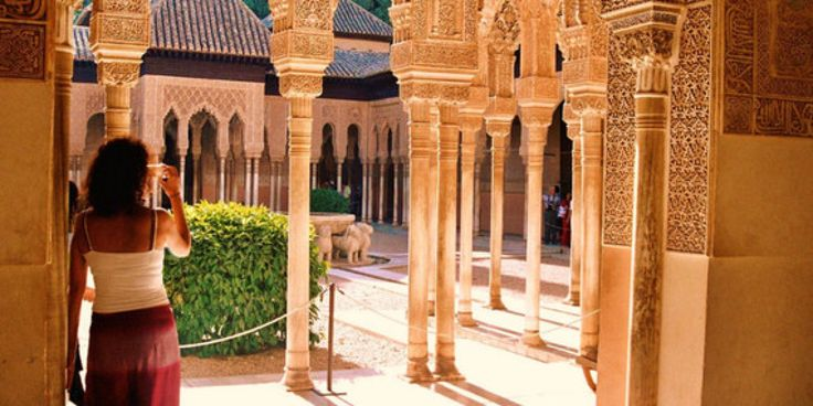 20 Reasons to Drop Everything and Go to Spain - The Huffington Post  My favorite part of the Spanish part of my Spain-Morocco trip was the Alhambra. I could have lived like that.