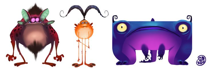 moh Monsters by Brett2DBean