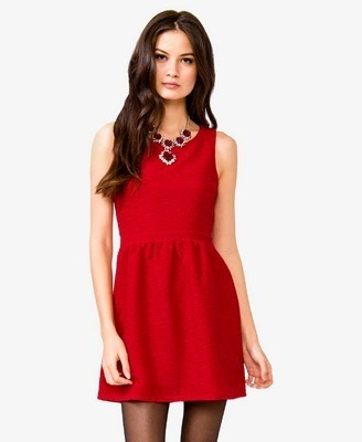 The perfect #vday dress for $27.80! So easy to dress this one up or down.