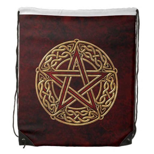 Celtic Pentacleguld Backpack