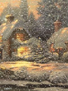 New Year Eve Gif. Snowfall gif, winter christmas gif. Send beautiful GIF message to loved ones. Tap to see more beautiful animated GIF as Greeting cards & messages for Messengers, Whatsapp and Emails. @mobile9 #gif